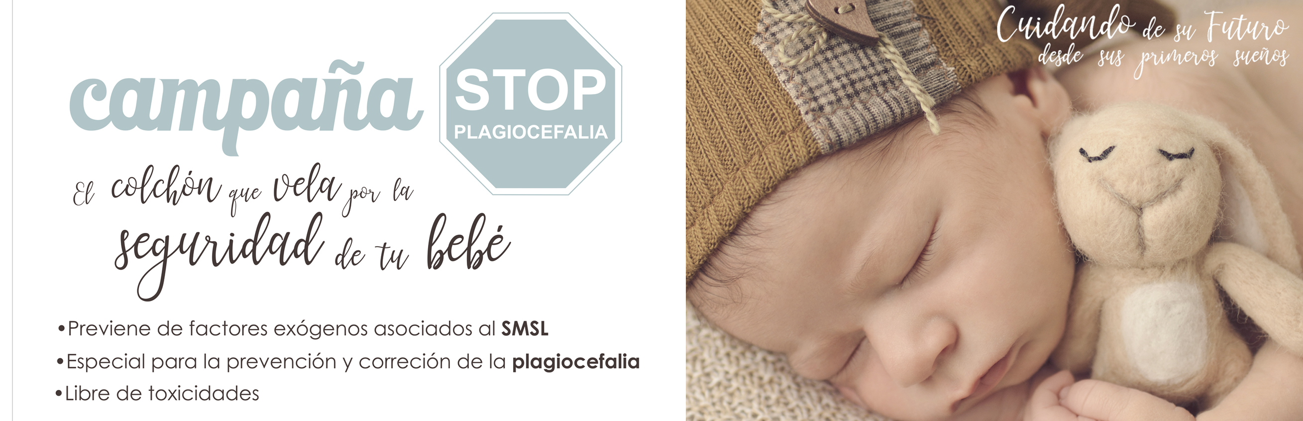 campaña plagiocefalia Sleep Care by Trébol Mobiliario